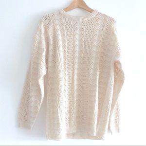 franco valeri Sweater with Light Shoulder Pads